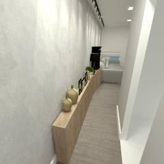 Projeto Residencial - 54m² Corredores, halls e escadas industriais por Fareed Arquitetos Associados Industrial