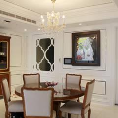 台北, 美式居家住宅案:  廚房 by G.T. DESIGN 大楨室內裝修有限公司