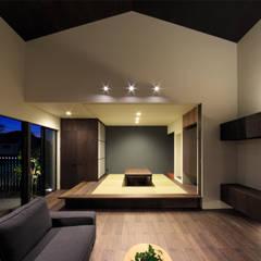 和室: 川添純一郎建築設計事務所が手掛けた和室です。