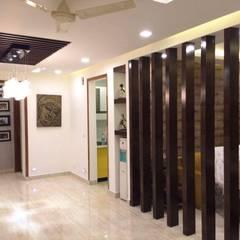 Corridor and hallway by M.U Interiors