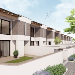 Terrace house by 2P COSTRUZIONI srl