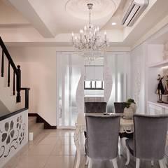 اتاق غذاخوری توسط趙玲室內設計