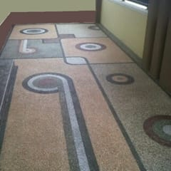 Jasa pemasangan batu sikat   carport   ampyangan surabaya jawa timur IV:  oleh TUKANG TAMAN SURABAYA - jasataman.co.id, Minimalis