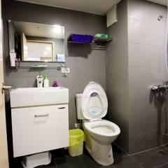 Phòng tắm theo 青築制作, Tối giản