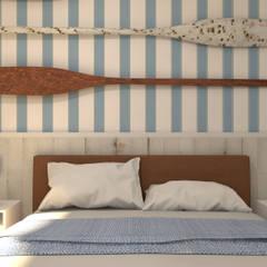 Loft de Praia: Quartos  por Norte Arquitetura e Interiores