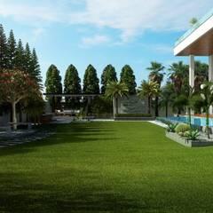 حديقة تنفيذ B Design Studio