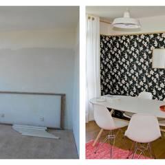 Antes & Depois: Escritórios e Espaços de trabalho  por Tangerinas e Pêssegos - Design de Interiores & Decoração no Porto