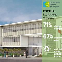 Fiscalía Los Angeles: Casas ecológicas de estilo  por Pasiva