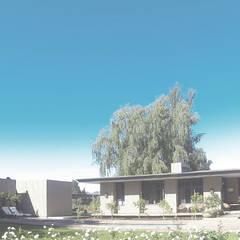 Vivienda Santa Cruz: Casas ecológicas de estilo  por Pasiva