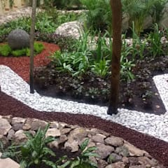 Jardins de pedras  por David Araiza Pérez DAP Diseño,  Arquitectura  y Paisaje