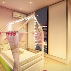 Girls Bedroom by 1001 Projetos Online