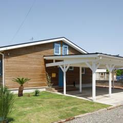 Casas de madera de estilo  por dwarf