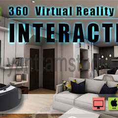 Interactive Interior App By Yantram virtual reality studio- Toronto, Canada:  Bars & clubs by Yantram Architectural Design Studio