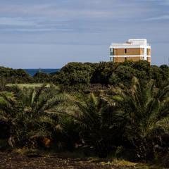 บ้านสำหรับครอบครัว โดย 에이오에이 아키텍츠 건축사사무소 (aoa architects),