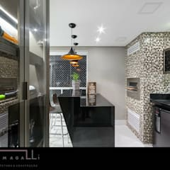 Wine cellar by Jacqueline Fumagalli Arquitetura & Design,