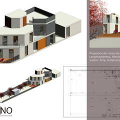 Casa Tecamac: Casas unifamiliares de estilo  por Designo