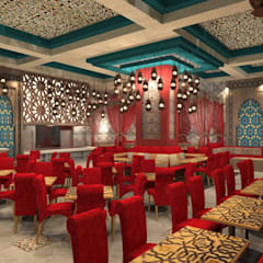Provide conceptual design for Client on New F&B set up: asian Dining room by Atmosphere Axis Sdn Bhd