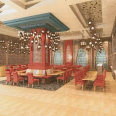 Provide conceptual design for Client on New F&B set up:  Dining room by Atmosphere Axis Sdn Bhd