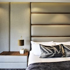 VCC Estate:  Bedroom by JSD Interiors, Modern Plywood