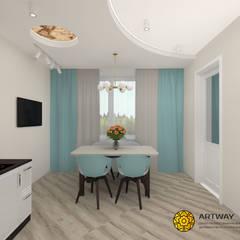 Дух путешествий: Столовые комнаты в . Автор – ARTWAY центр профессиональных дизайнеров и строителей