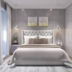 ЖК Ареал: Спальни в . Автор – Частный дизайнер Анастасия Король