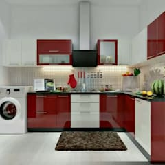 Kitchen by Aqua homes, Asian