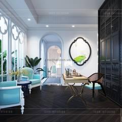 Thiết kế biệt thự theo phong cách Đông Dương - Vẻ đẹp giá trị thời gian:  Phòng giải trí by ICON INTERIOR