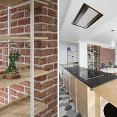 Apartament dwa poziomy: styl , w kategorii Kuchnia na wymiar zaprojektowany przez Complete Home