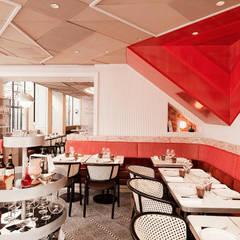 Tables en céramique Raku: Restaurants de style  par Fabienne L'Hostis SASU