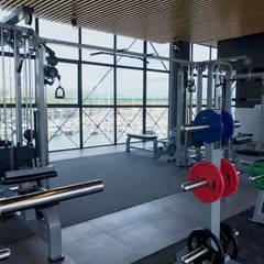 Fitness Up | Gym [Viana do Castelo] # 2017: Lojas e espaços comerciais  por XIU | Design & More, Lda