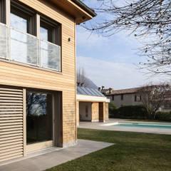 Oleh Studio Architettura Macchi Modern Parket Multicolored