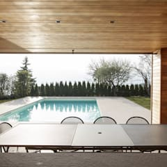 مسبح حديقة تنفيذ Studio Architettura Macchi