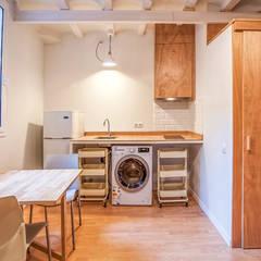 Projekty,  Kuchnia na wymiar zaprojektowane przez LaBoqueria Taller d'Arquitectura i Disseny Industrial