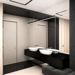 MAKE IT HAPPEN | II | Wnętrza domu : styl , w kategorii Łazienka zaprojektowany przez ARTDESIGN architektura wnętrz