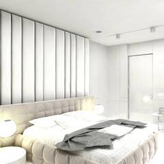 MAKE IT HAPPEN   II   Wnętrza domu : styl , w kategorii Sypialnia zaprojektowany przez ARTDESIGN architektura wnętrz