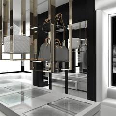 MAKE IT HAPPEN | II | Wnętrza domu : styl , w kategorii Garderoba zaprojektowany przez ARTDESIGN architektura wnętrz