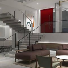 : Salas / recibidores de estilo  por Design Group Latinamerica