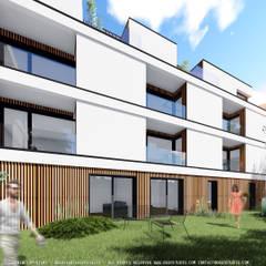 Mehrfamilienhaus von OGGOstudioarchitects, unipessoal lda