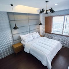 One Orchard Road:  Bedroom by TG Designing Corner