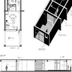 SERVICIOS DE ARQUITECTURA, DISEÑO Y ESPECIALIDADES.: Casas prefabricadas de estilo  por Hector Arquitecto