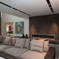 Salas de estar  por Design Studio Yuriy Zimenko