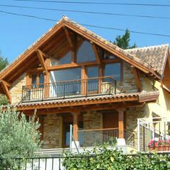 Resultado final de la casa de campo: Casas rurales de estilo  de Manuel Monroy, arquitecto