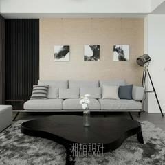 minimalistic Living room by 湘頡設計