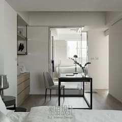 minimalistic Bedroom by 湘頡設計