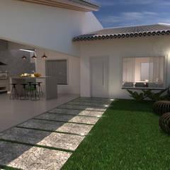 Maison individuelle de style  par Traço B Arquitetura