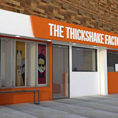THICK SHAKE NELLORE:  Bars & clubs by KAS Architecture