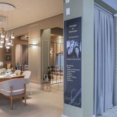 Oficinas y Tiendas de estilo  por Geovanna Cristina