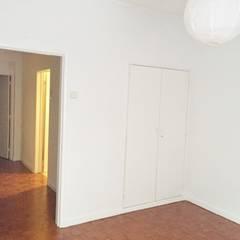 Apartamento T2 Benfica - Lisboa Quartos rústicos por EU LISBOA Rústico