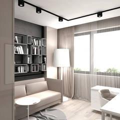 MAKE IT HAPPEN | II | Wnętrza domu : styl , w kategorii Domowe biuro i gabinet zaprojektowany przez ARTDESIGN architektura wnętrz
