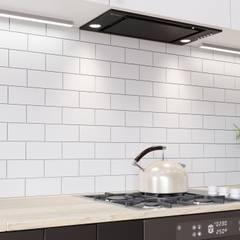 Minimalistyczna kuchnia z czarnymi akcentami: styl , w kategorii Kuchnia zaprojektowany przez GLOBALO MAX